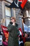May Day protest in Dublin shuts stock exchaange