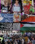 Pictures of london peace demo 13oct