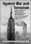 Against War and Terrorism - PDF pamphlet for you to distribute