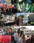 More pics from anti-wto Trade Justice Parade, london, 3rd nov