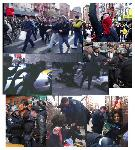 87 Arrested in NY as cops attack protestors again! (sunday)