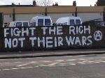 Territorial Army base in Walthamstow graffitied