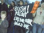Leeds M27 Protests Mark 1 Week of Illegal War & Target BBC