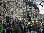 Mayday in Whitehall + Parliament Square