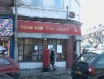 Town Row post office, a busy and well used community resource