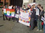 Queer Youth Protesting in Maidstone