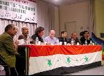 2nd Right,Al-kubaîsi in Paris Intern. conf of Solidarity with the Iraqi People