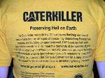 Caterkiller tee-shirts