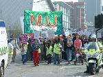 South Manchester: NUJ Banner