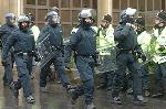 Outrage!! Armed, Masked, Black clad extremists take to our streets.