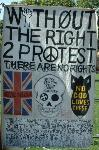 Without the right to protest there are no rights