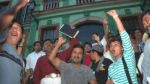 Oaxaca teachers greet release of imprisoned comrades
