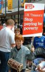 UK Treasury – stop paying for poverty