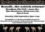 Climate Camp benefit flyer