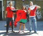 Greenman, PatelAneeta and Spritely Monkey show of our shirts