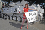 second tank at DSEi - it's for sale!