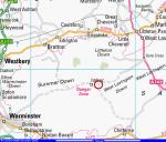 Ordanance Survey map of Imber