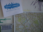 Map aids London Squatter