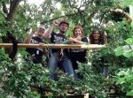 September 2007: Teachers Take To The Trees To Avoid Eviction
