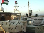 SS Free Gaza and SS Liberty in Chania, Crete on 10 August 2008 (freegaza.org)