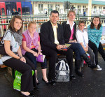Cardiff Central Dad and Daughters Set Course for London To Petition Gordon Brown