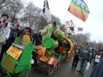 The Rinky Dinky machine - a regular feature at London demos!