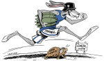 Gaza, the Rabbit and the Turtle