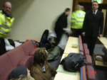 University security drag student protesters from lecture theatre