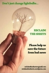 Reclaim the Sheets - flyer