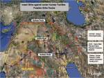 Israeli srike against Iranian nuclear facilities - Possible strike routes
