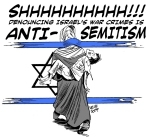 Criticizing Israel is Anti-Semitism