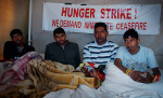 The four Hunger Strikers.