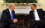 Israeli Prime Minister Netanyahu meets with President Obama at the White House