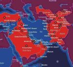 US military bases in the Middle East and Central Asia