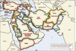 "map of the ""New Middle East"""