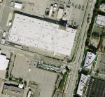 Satellite photograph of Building 181