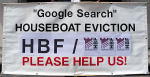 Google Search Houseboat Eviction HBF Please Help Us Shalom Banner