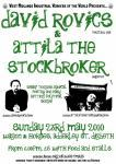 Rovics and Attila Gig for West Mids IWW 2010