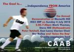 Mark Thomas at Menwith Hill July 4th