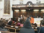 Council chambers occupied!
