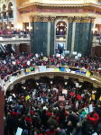 Governor Walker's proposals have triggered wildcat strikes