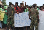 Katunayake is under military lockdown, but workers are still defiant