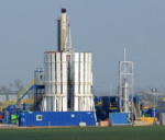 Fracking operations at Singleton