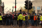 The EDL rally in Brum in 2011