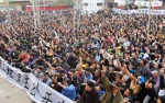 This is what democracy looks like: the new rulers of Wukan rallied on Tuesday
