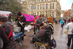 Previous Food Not Bombs event in solidarity with Bradley Manning (Dec 2011)