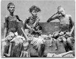 Victims of the Great Famine of 1876–78 in India.