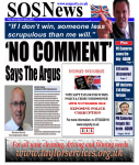 The Argus says 'No Comment'