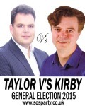 Taylor v's Kirby for Brighton Kemptown 2015
