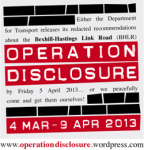 Operation Disclosure
